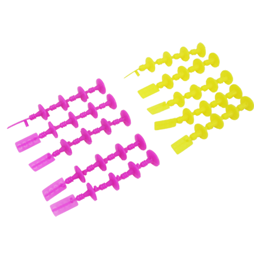 Estes Rockets Plugs for Standard Engines yellow and magenta igniters