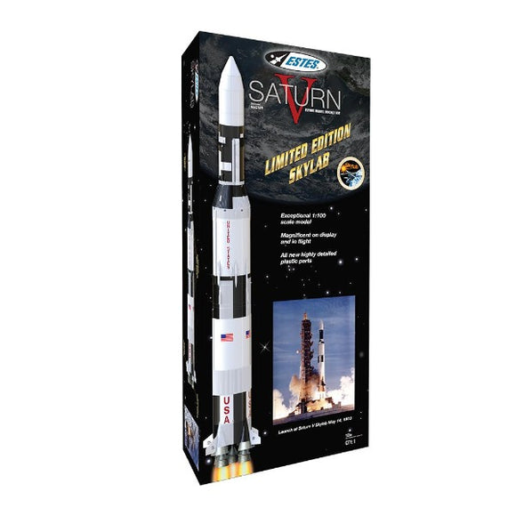 Estes Saturn V Skylab Retail Packaging