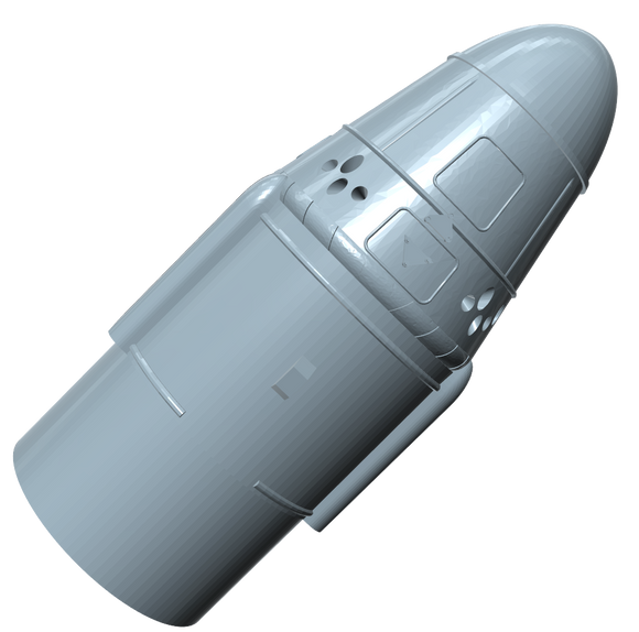Nose Cone Upgrade for SpaceX Dragon I