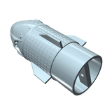 SpaceX Dragon II Nose Cone Upgrade Assembled