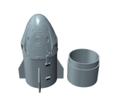SpaceX Dragon II Nose Cone Upgrade Parts