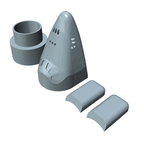 Estes 1385 Replica Space Shuttle Parts