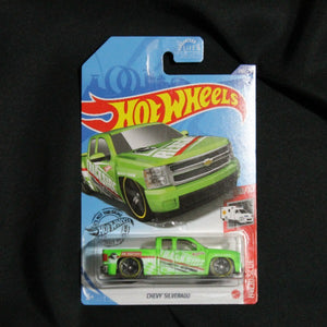 Hot Wheels Chevy Silverado 2020 Treasure Hunt