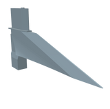 Redstone Fin Angled