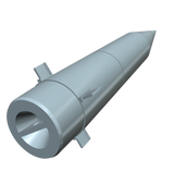 Redstone Missile Nose Cone Bottom