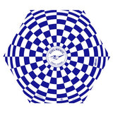 "Blue & White 18"" Estes Opened Parachute"