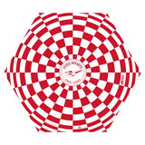 "Red & White 24"" Estes Opened Parachute"