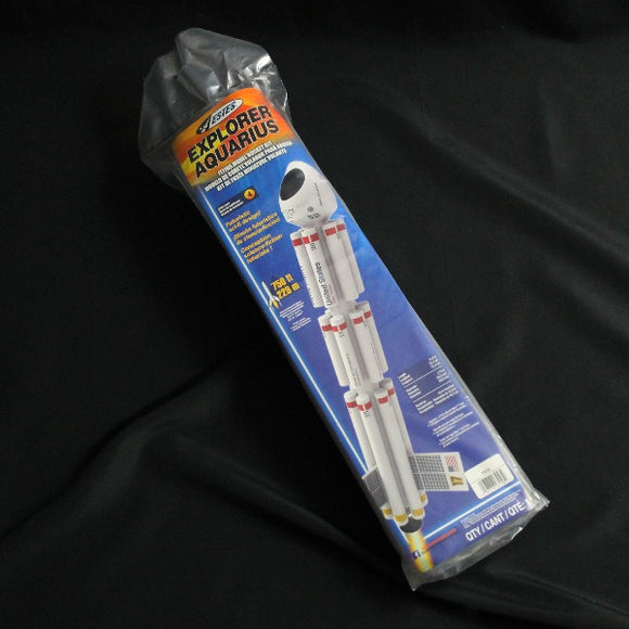 Estes Explorer Aquarius Retail Packaging
