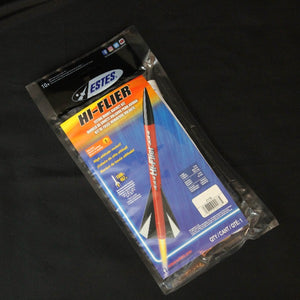 Estes Rockets Hi Flier Retail Packaging