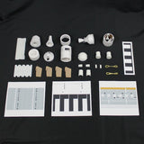 Gemini Titan Rocket Kit Components