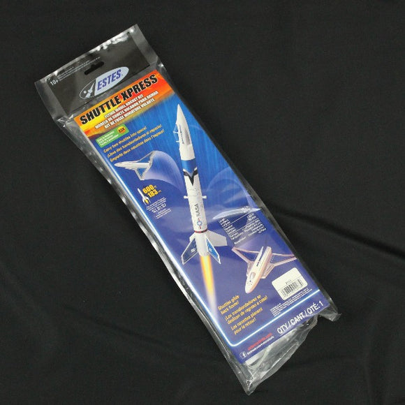 Estes Rockets Shuttle Xpress Retail Packaging