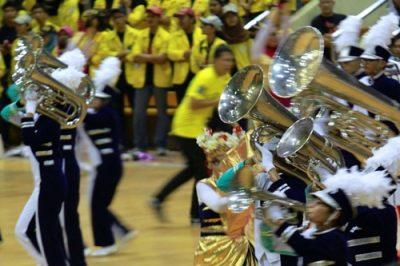 Why do you need competition in marching band?