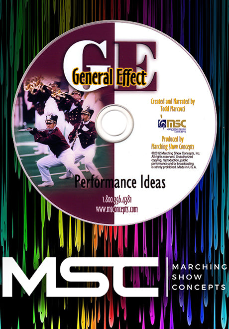 General Effect Performance Ideas DVD - Marching Show Concepts