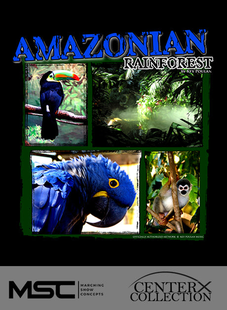 Amazonian Rainforest - Marching Show Concepts