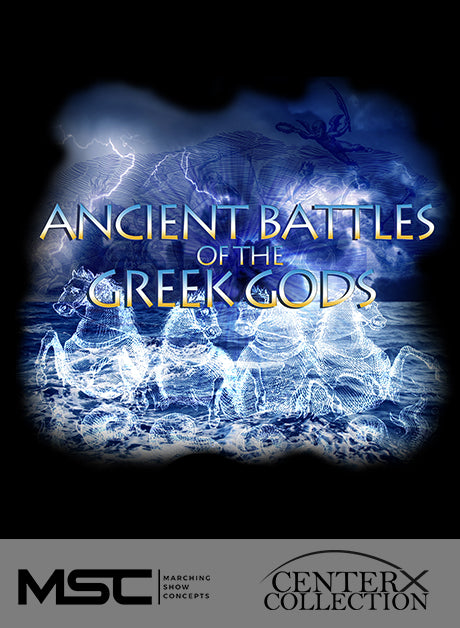 Ancient Battles of the Greek Gods - Marching Show Concepts
