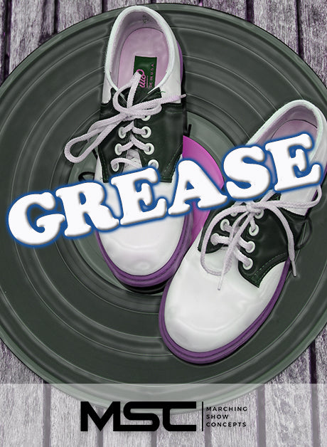 Grease (Gr. 3)(7m26s)(28 sets) - Marching Show Concepts