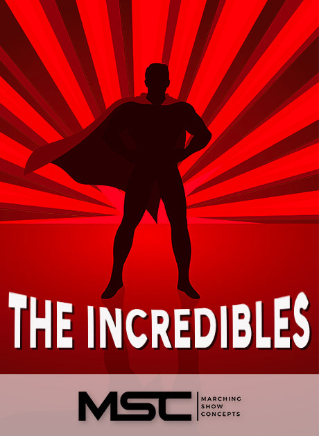 Incredibles (The) (Gr. 4)(7m21s)(45 sets)