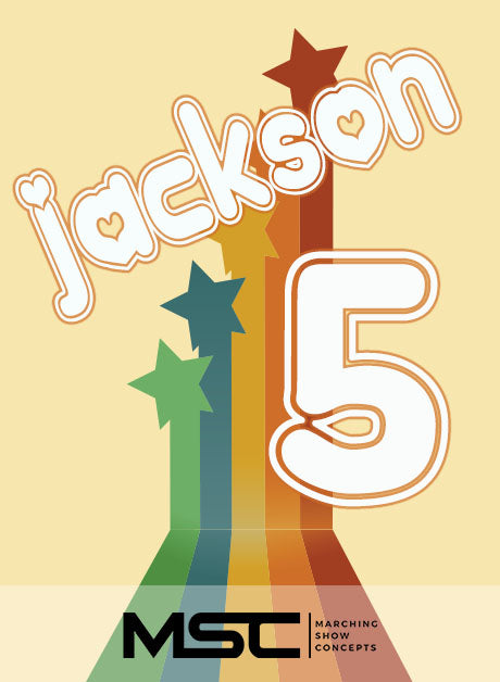 Jackson Five: An American Experience (Gr. 3)(6m53s)(36 sets) - Marching Show Concepts