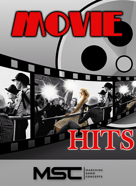 Movie Hits (Gr. 1)(5m52s)(9 sets) - Marching Show Concepts
