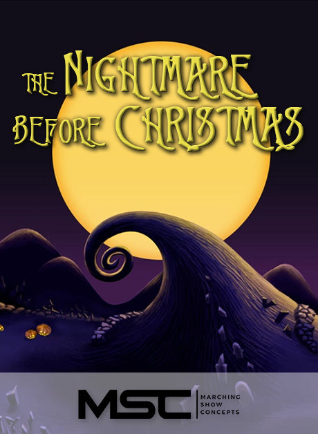 Nightmare Before Christmas (Gr. 3)(7m45s)(44 sets) - Marching Show Concepts
