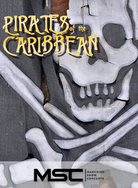 Pirates of the Caribbean (Gr. 3)(7m24s)(30 sets) - Marching Show Concepts