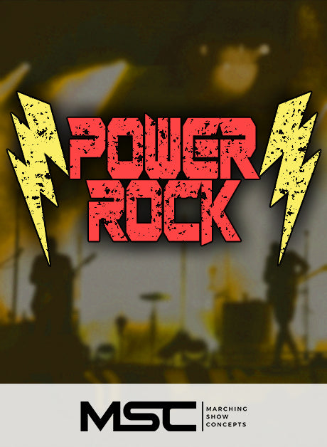 Power Rock (Gr. 1) - Marching Show Concepts