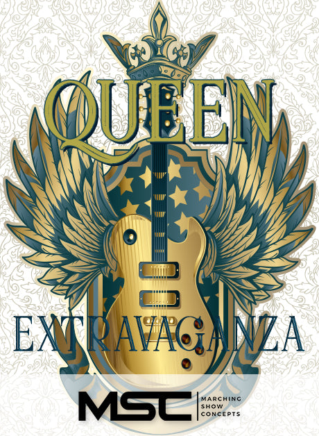 Queen Extravaganza (Gr. 3)(7m12s)(33 sets) - Marching Show Concepts