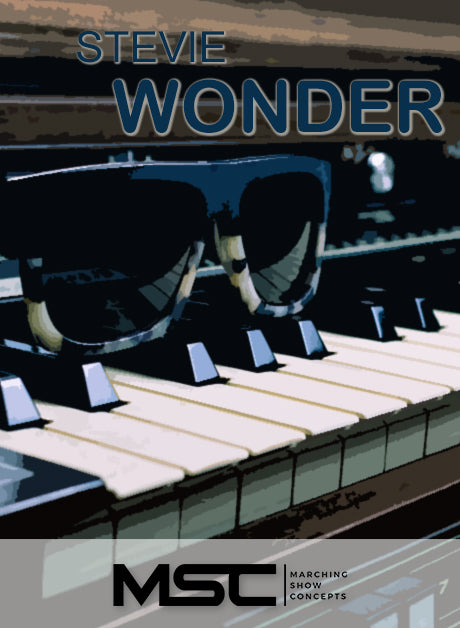 Stevie Wonder (Gr. 3)(7m58s)(34 sets) - Marching Show Concepts