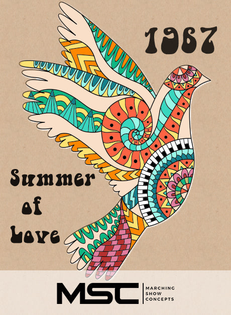 Summer of Love - 1967 (Gr. 3)(6m34s)(41 sets) - Marching Show Concepts