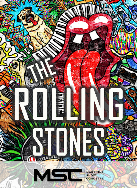 Rolling Stones (The) (Gr. 1)(5m30s)(14 sets) - Marching Show Concepts