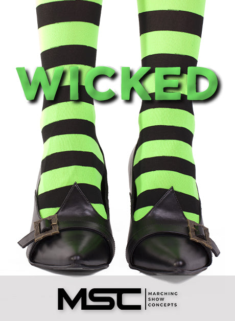 Wicked (Gr. 4)(7m30s)(48 sets) - Marching Show Concepts