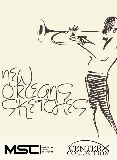 New Orleans Sketches (Grade 3) - Marching Show Concepts
