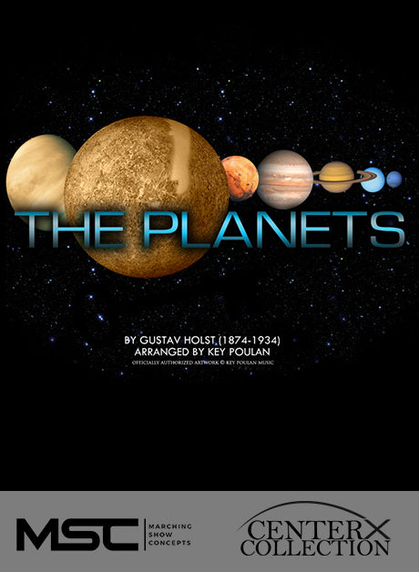 Planets (The) (Key Poulan) - Marching Show Concepts