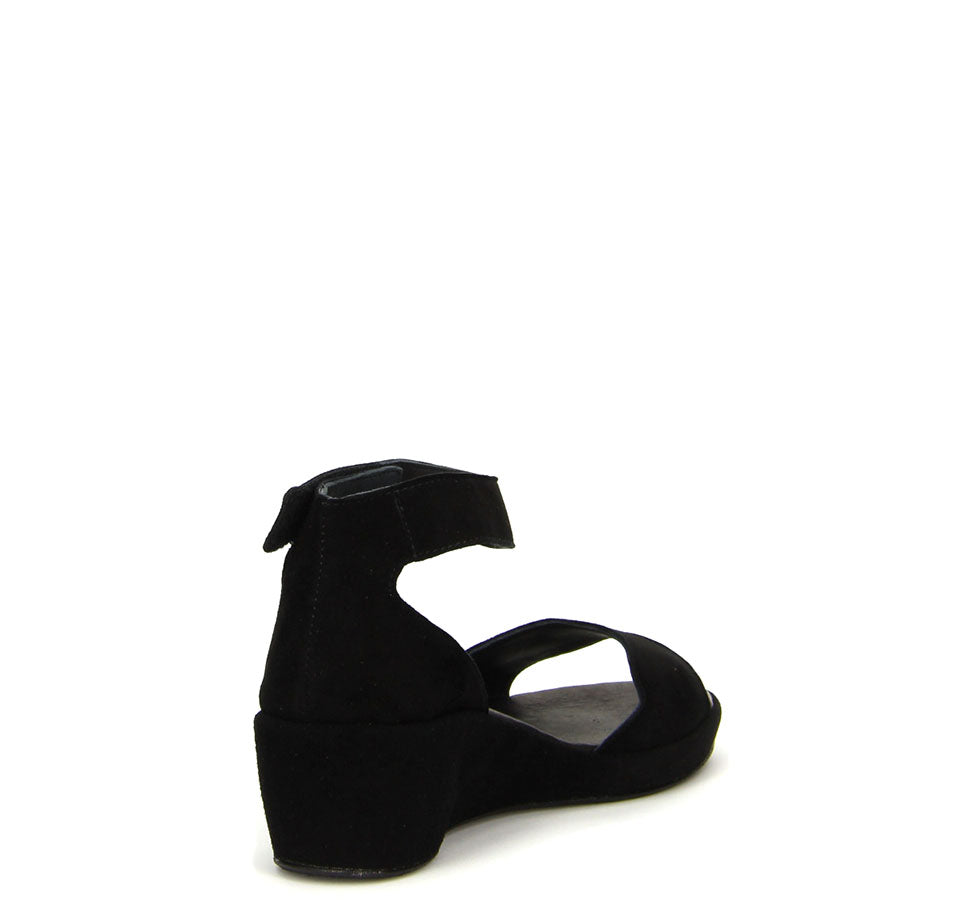 Ladies Wedsch Sandal Black
