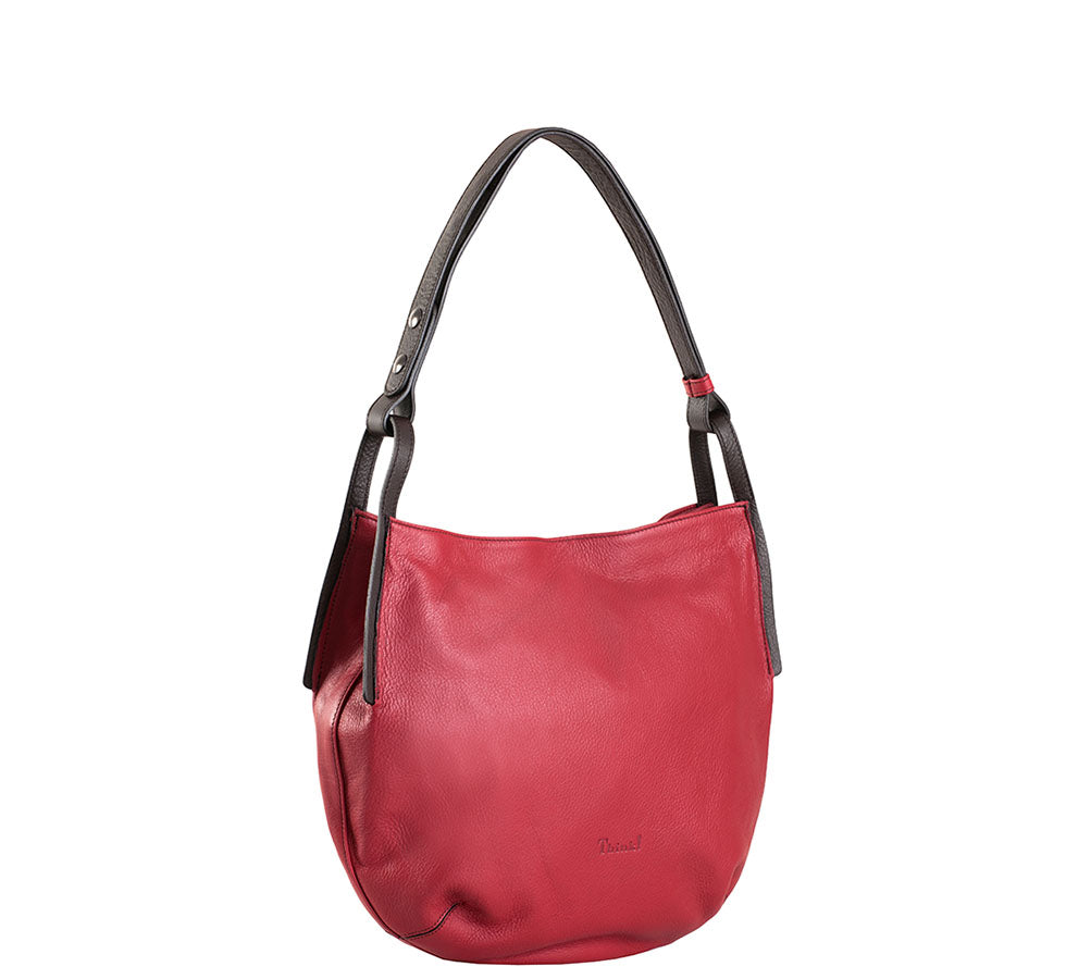 Shoulder Handbag Red