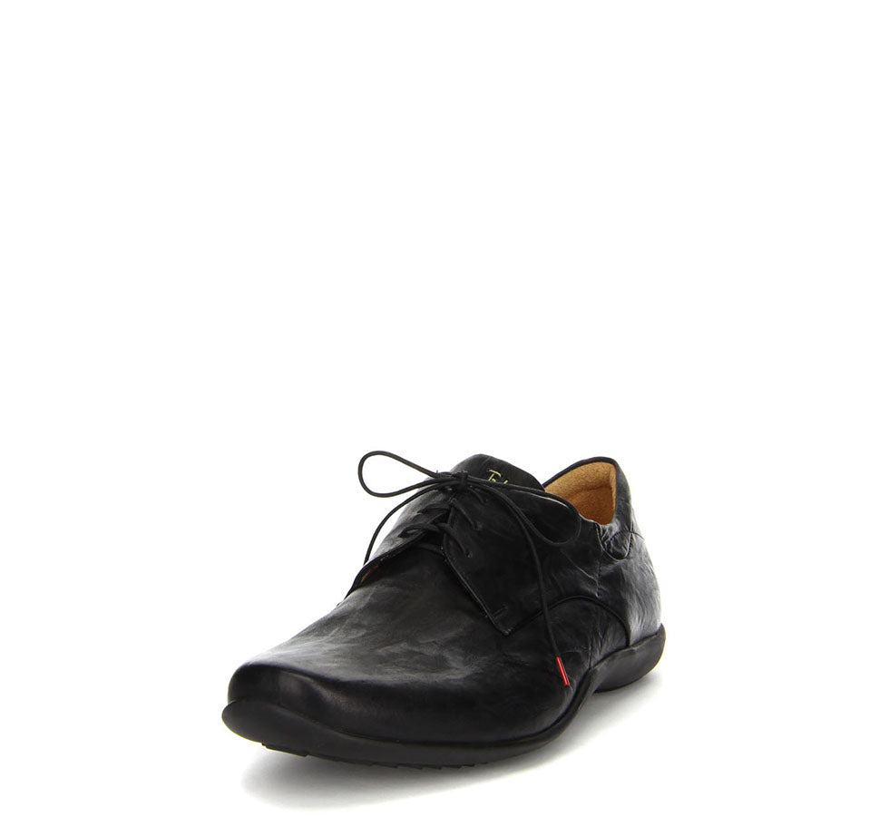 Men's STONE Lace-Up Black