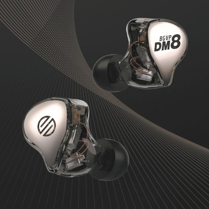 BGVP DM8 Latest Multi-BA IEM Announced