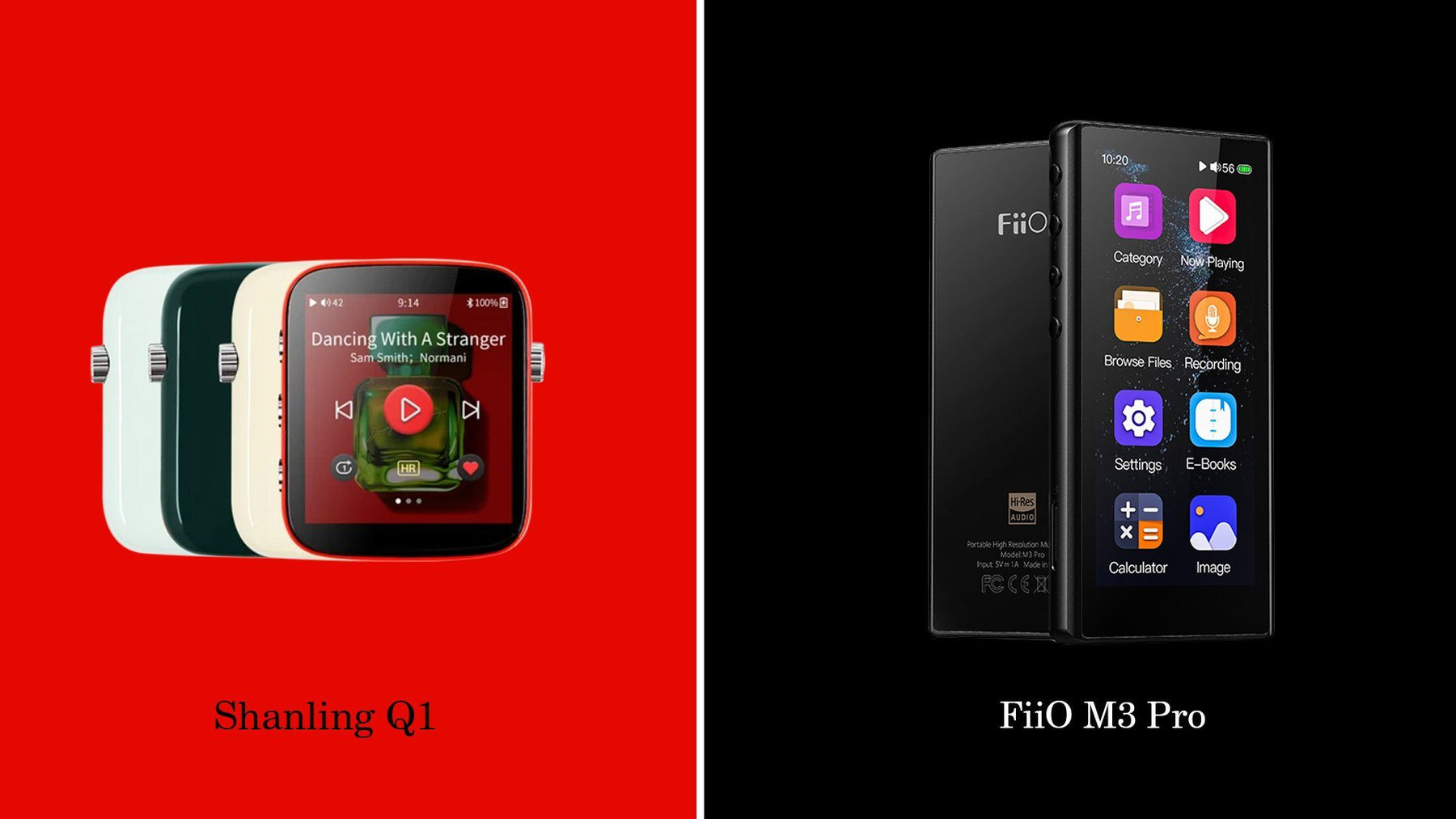 FiiO M3 Pro Vs Shanling Q1: Entry-Level DAP Battle!!