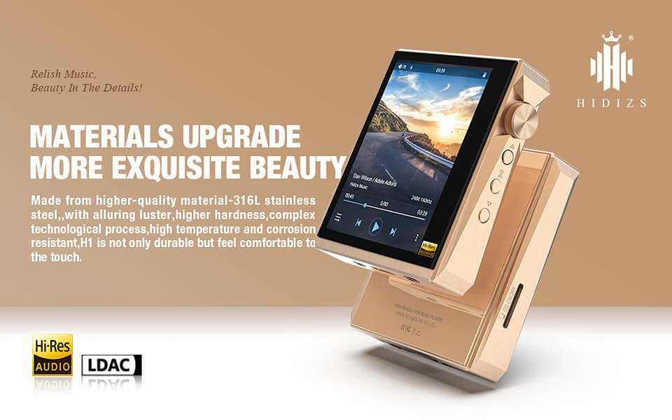 Hidizs AP80 Pro Rose Gold Limited Edition Released