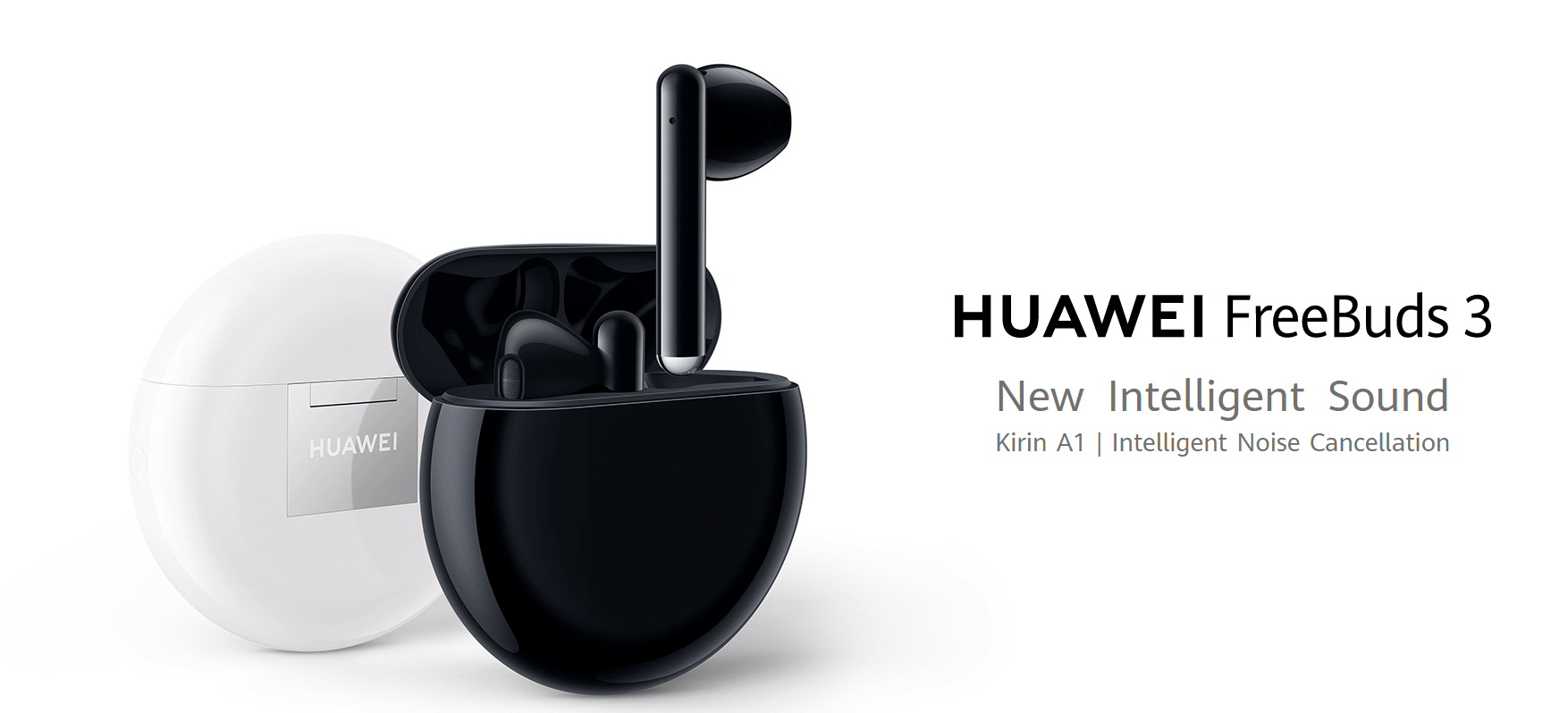 Huawei FreeBuds 3 wireless earbuds released with Kirin A1, bluetooth 5.1 | Hifigo