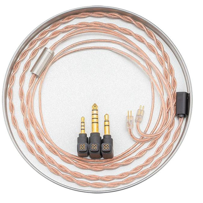 Moondrop PCC Coaxial OCC IEM Upgrade Cable Released