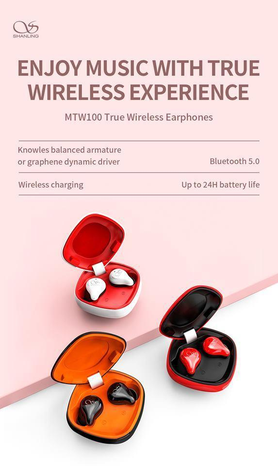 Shanling launched 4 new products include True Wireless Stereo Eearphones MTW100 at KITAS