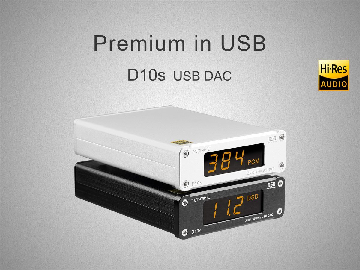 TOPPING Launches New D10s DAC