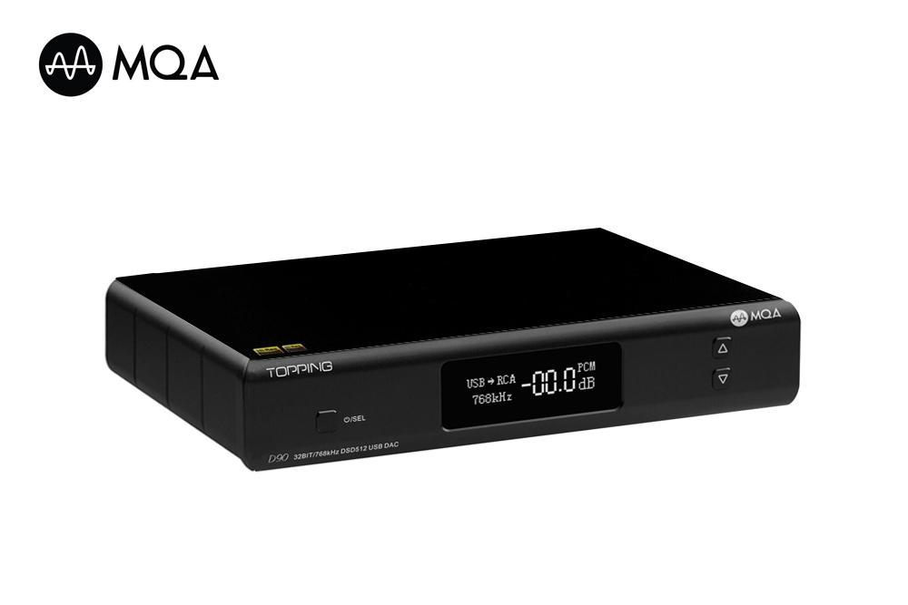 Topping Releases New Firmware V1.24 For D90 MQA DAC.