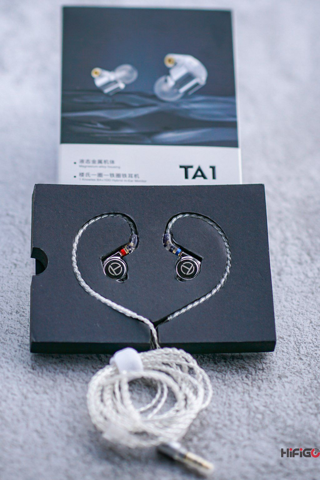 TRN TA1 Latest Dual Driver Hybrid In-Ear Monitors Released