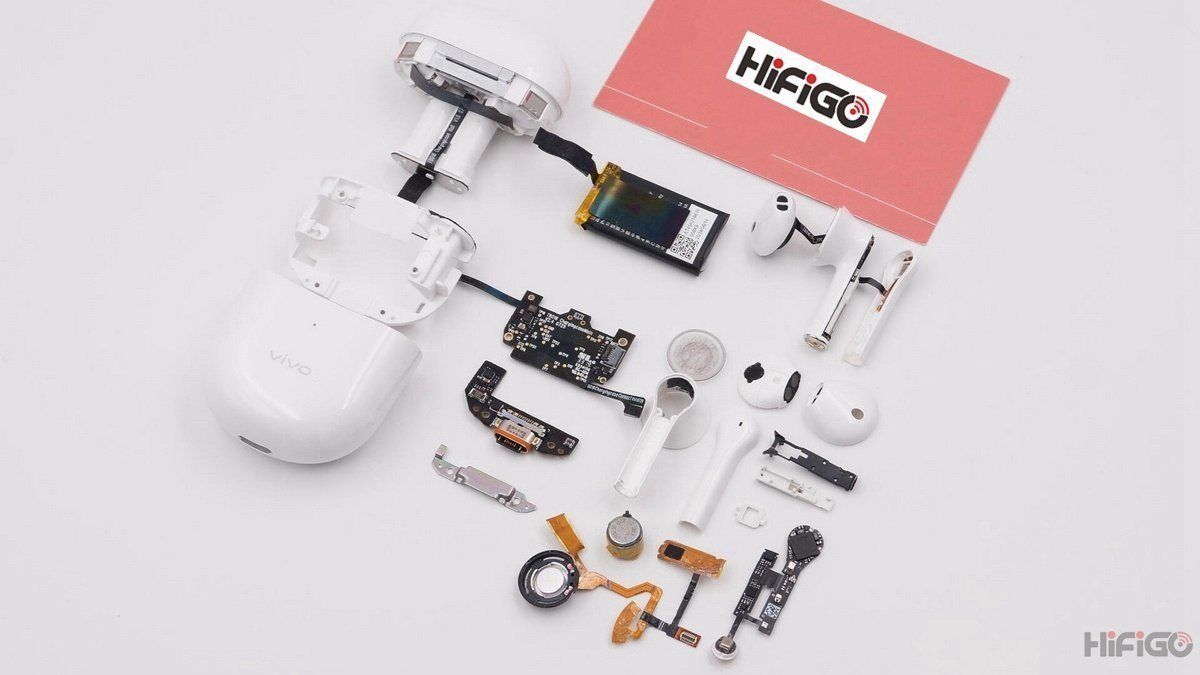 Vivo TWS True Wireless Earbuds Deep Teardown | Hifigo