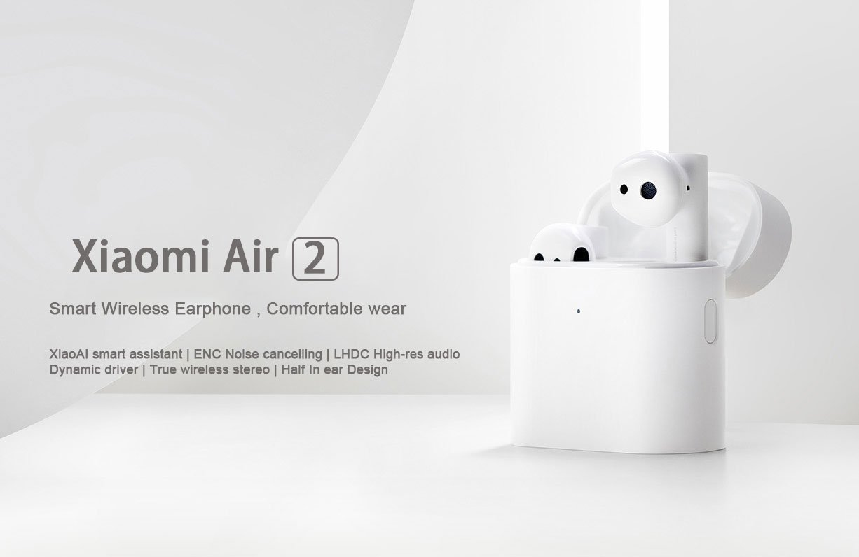 XiaoMi Air 2 TWS true wireless earphones Bluetooth 5.0 launched | Hifigo