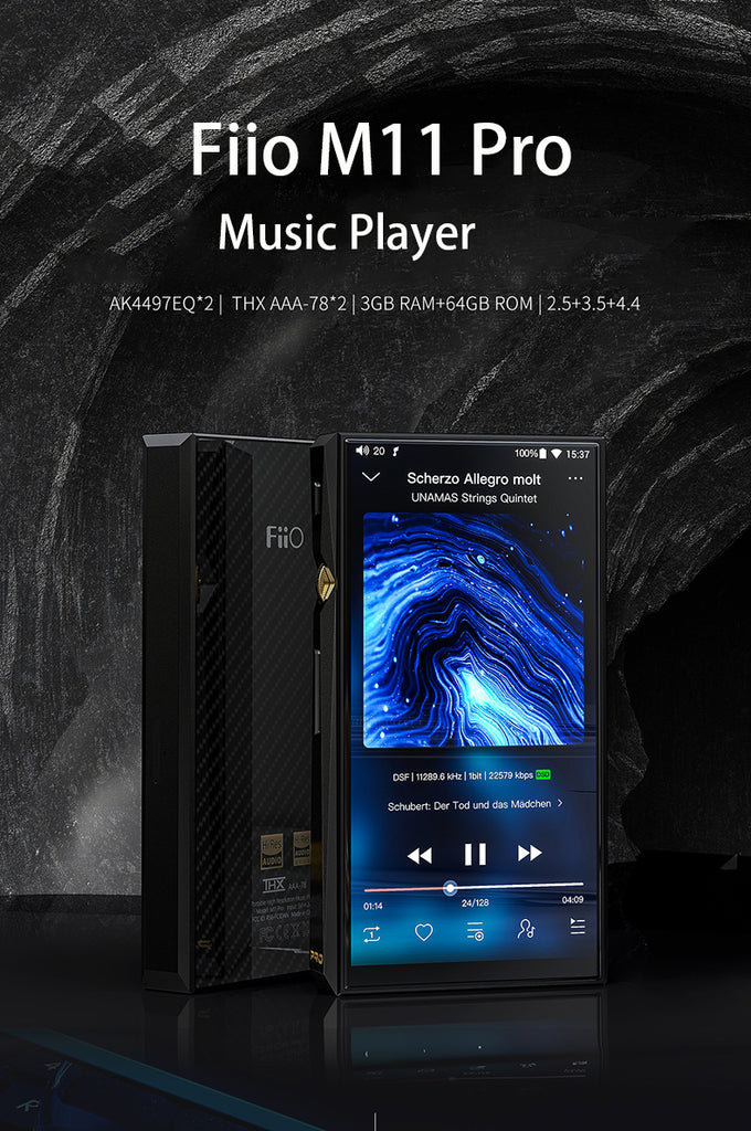 Buy Fiio M11 Pro Portable Music Player for a Lowered Price
