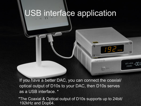 USB to optical/coaxial converter