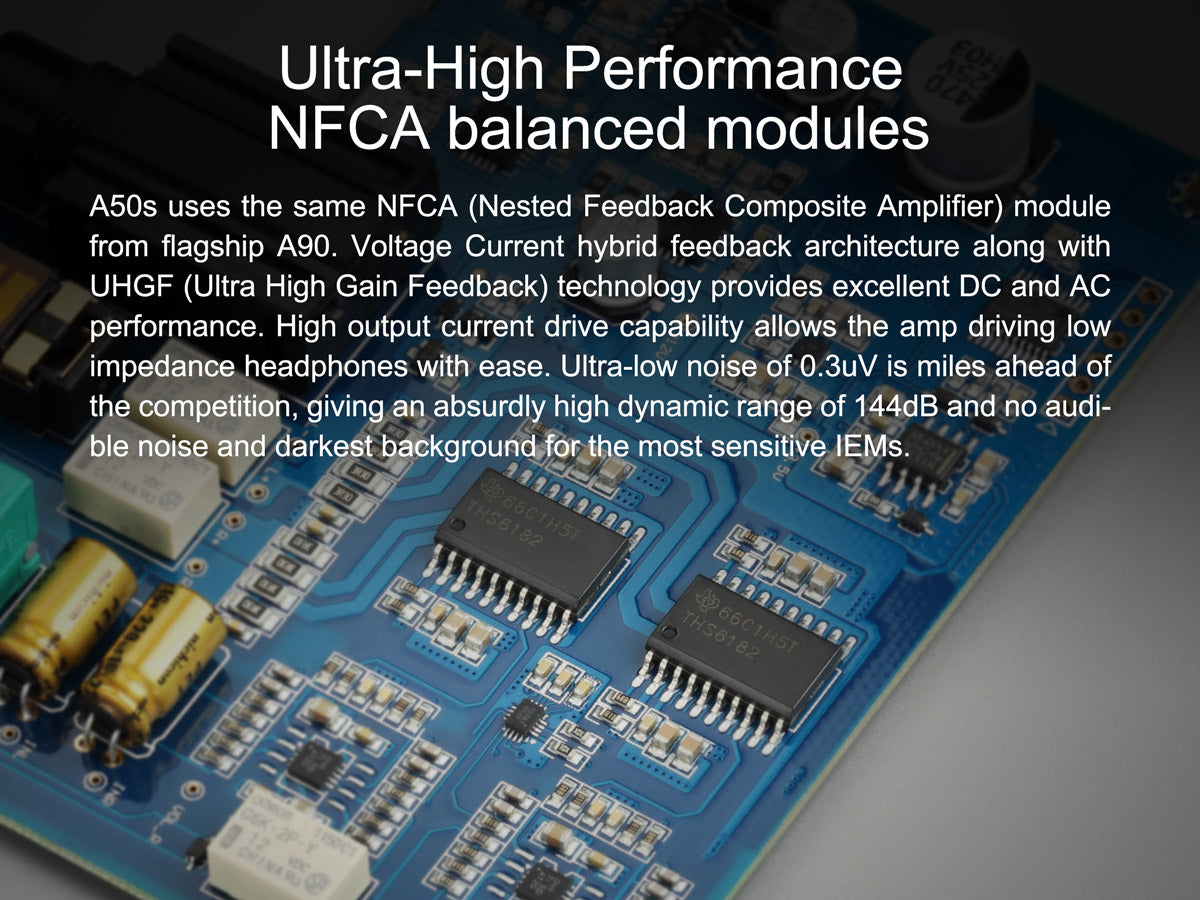 TOPPING A50s NFCA modules